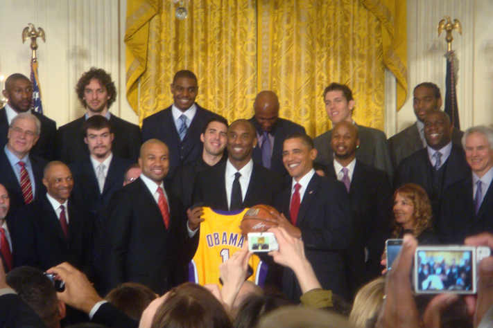 Lakers_White_House_Obama Two