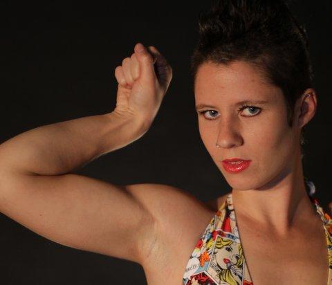 Pippa UK Wrestling Star
