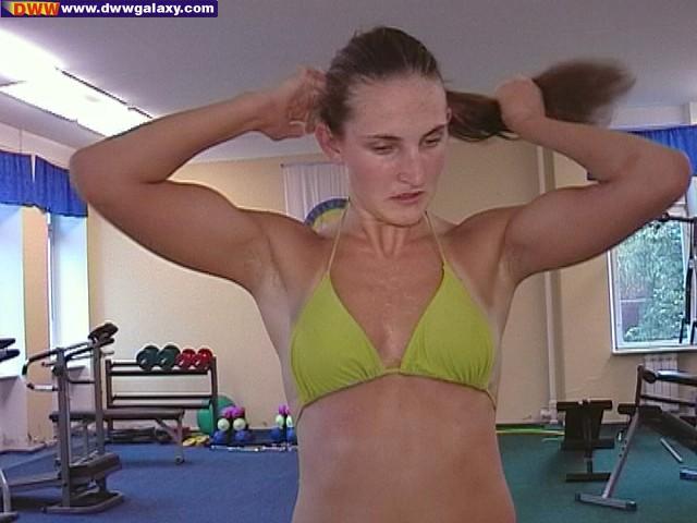 Maria Euro Wrestler