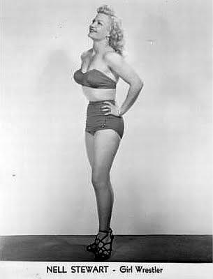 nell Nell Stewart - pro wrestling - wrestling women