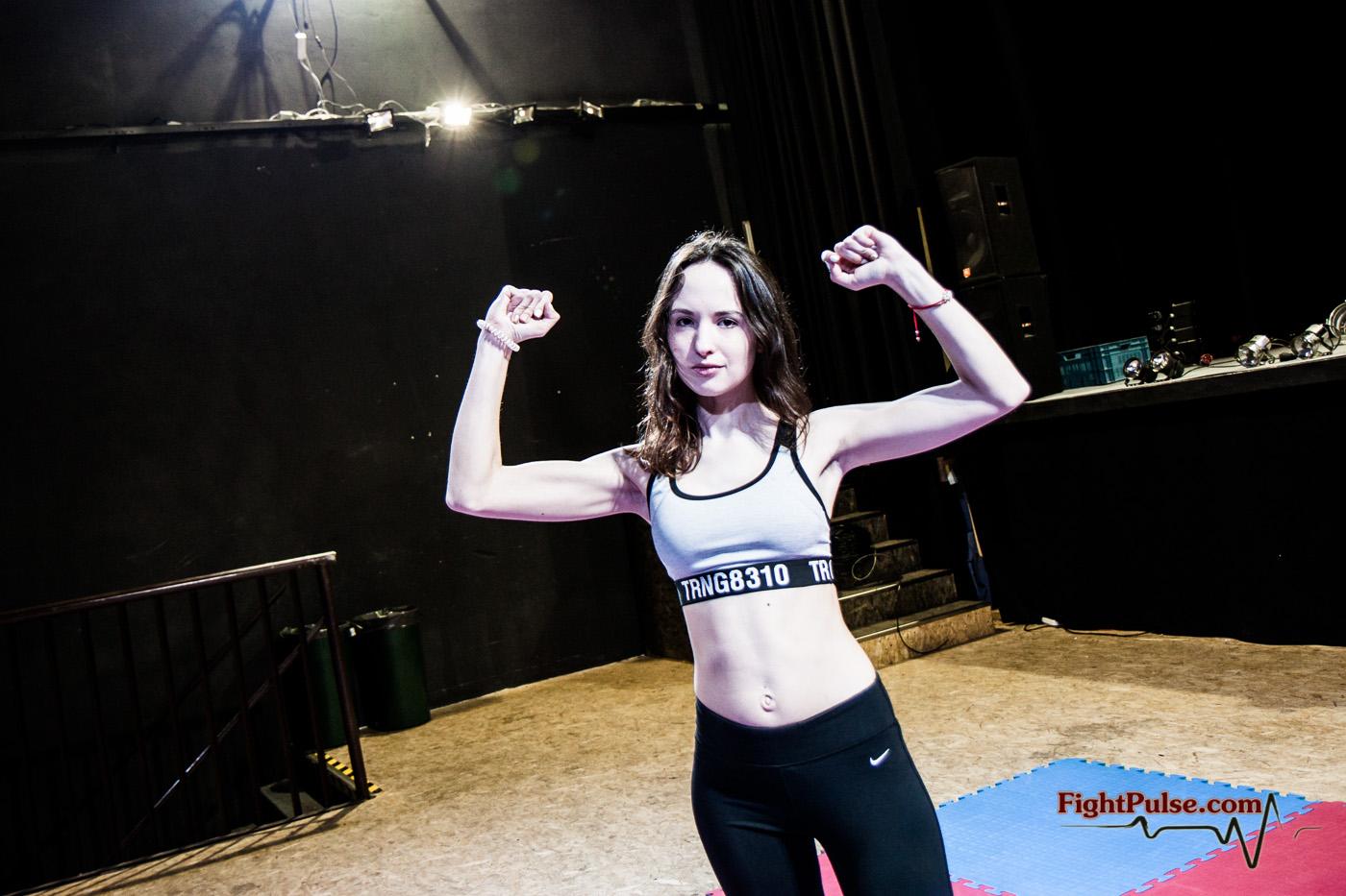 Miss M. Euro Wrestler