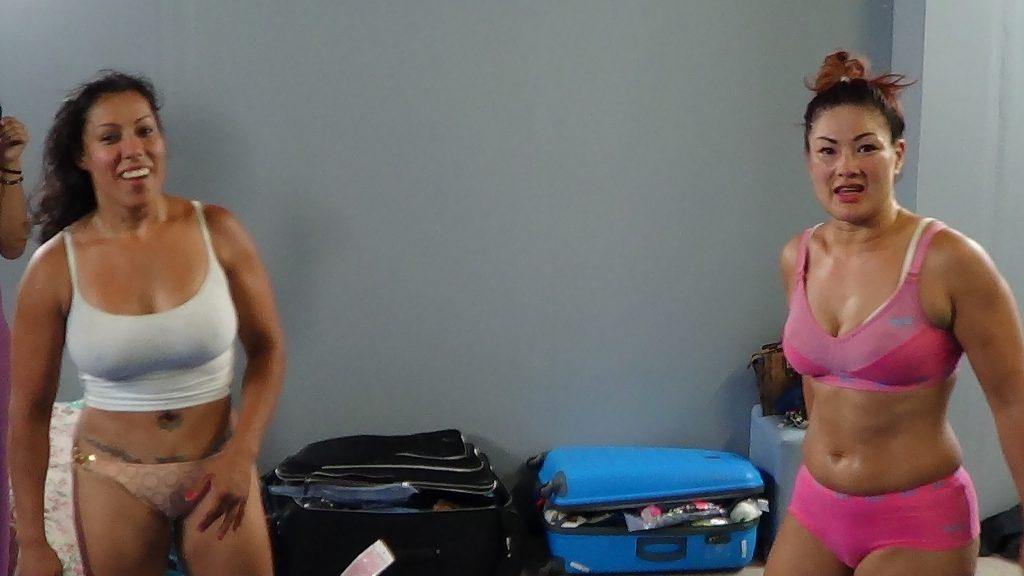 Daisy Ducati Mixed Wrestling