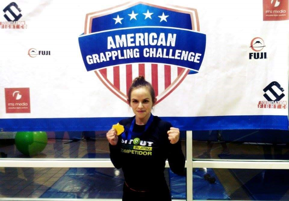 Akron Ohio Session Girl Ashley, MMA Star With Passion