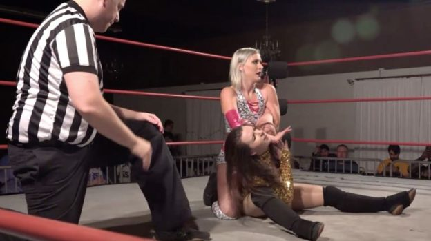 Beautiful Indie Wrestler Heather Monroe, Ambition Evident
