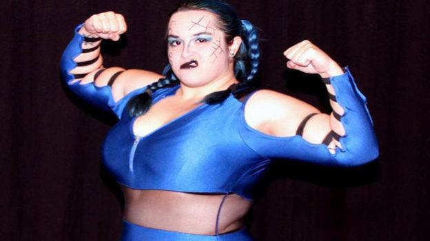 Kikyo Nakamura, Fallen Flower, Rising Indie Wrestling Star