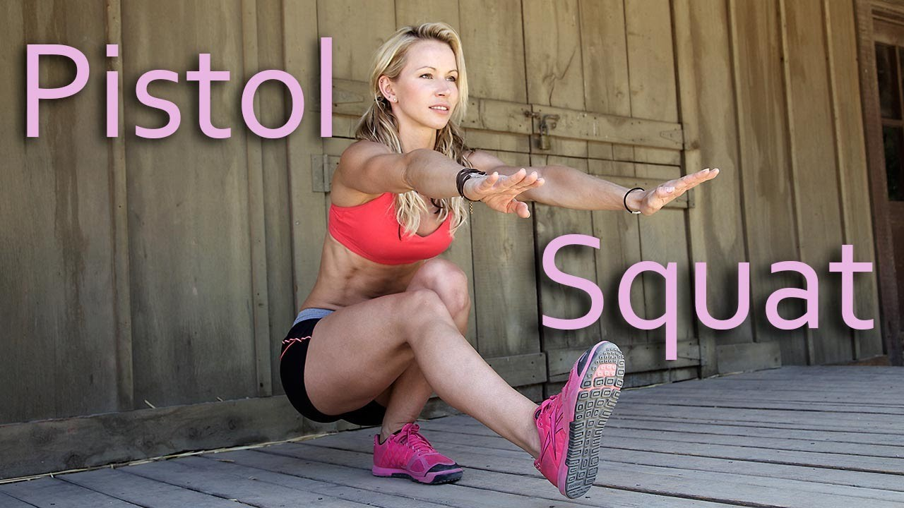 Fem Wrestlers, Pistol Squats Are Number One With A Bullet
