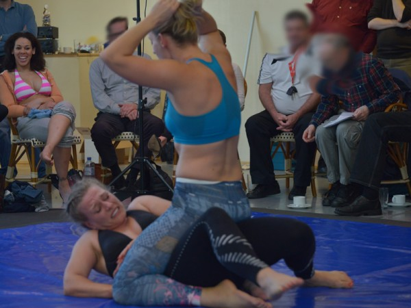 Female Grapplers, Will Leggings Be Your Future Combative Attire?