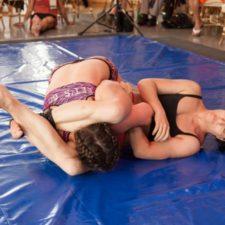 Arm Bars, Champion Female Wrestlers Perfect Them