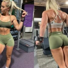 FBB Session, Wrestlers And Fitness Girls, Wonderfully Mainstream