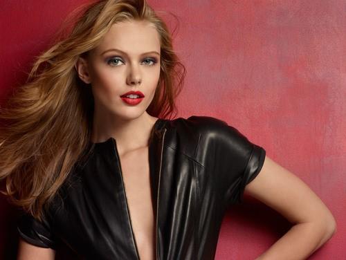 Actress, Model Frida Gustavsson, Sweet Sensuous Swede